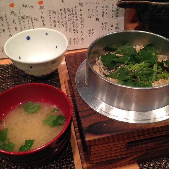 鯖と新生姜の釜炊きご飯