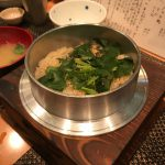 【いわ月】新生姜の釜炊きご飯に舌鼓!天満の隠れ家割烹料理店。